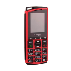 Sigma mobile Comfort 50 Mini 4 Red/Black